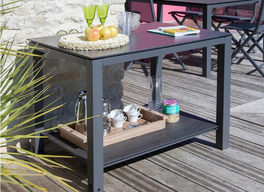 table plancha plateau trespa proloisirs