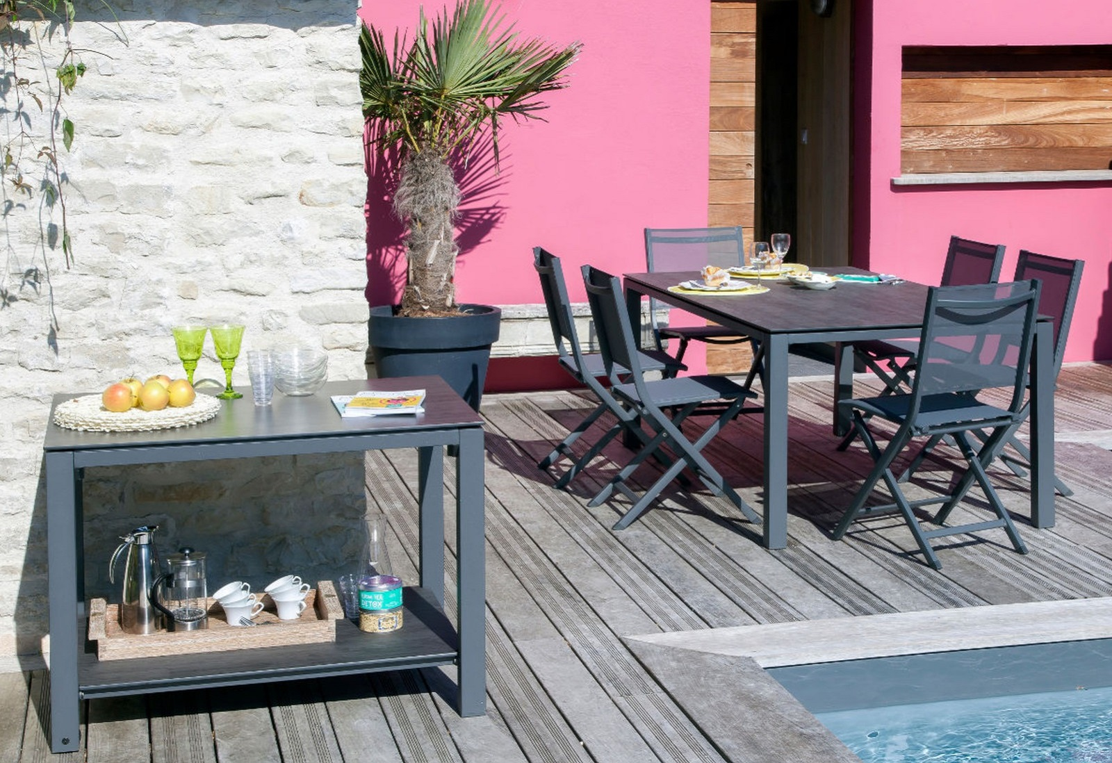 Mobilier de jardin en ligne - Meubles de jardin design - Proloisirs