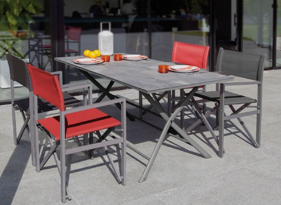 table pliante azuro proloisirs