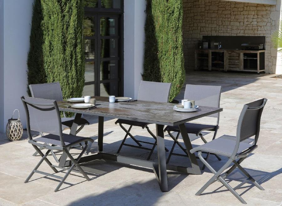 top du mobilier de jardin table agira Proloisirs