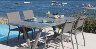 le top du mobilier de jardin table d'extérieur aube Proloisirs