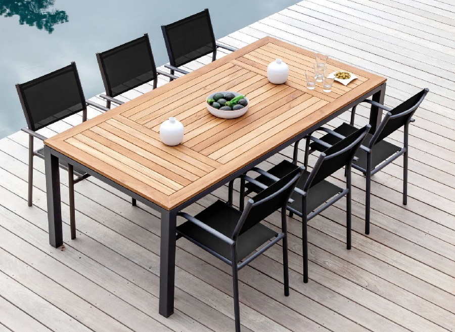 mobilier de jardin en 2020 table tempo proloisirs