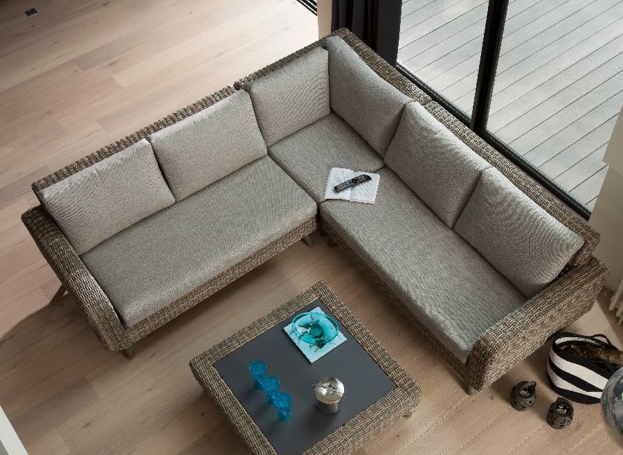 mobilier de jardin pour une véranda ensemble panoramique + table basse vigo proloisirs