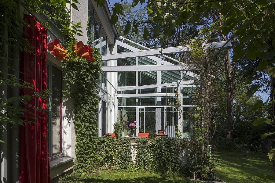 aménager un jardin d'hiver véranda