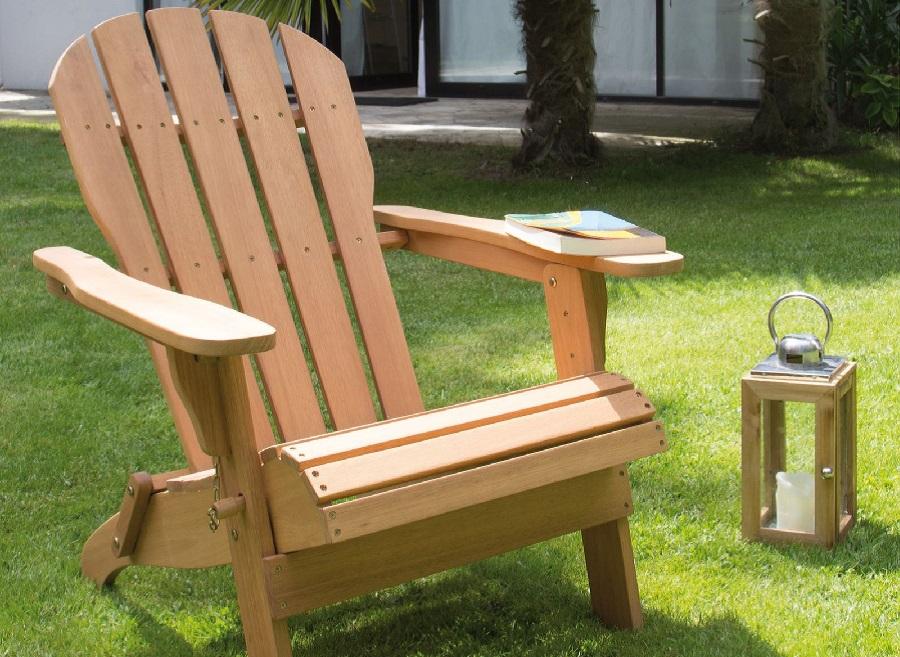 meubles en bois fauteuil Adirondac proloisirs