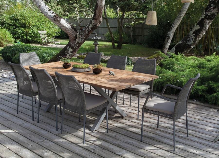 meubles en bois table crossway proloisirs